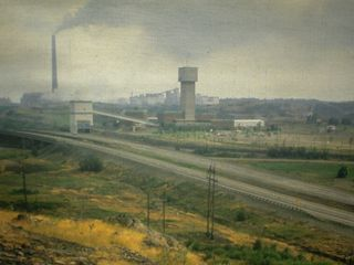 Photo of Copper Cliff South Mine and Vale nickel smelter in Sudbury, Ontario, by Patrick Whiteway.