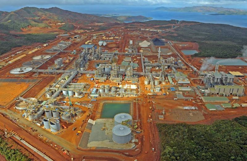 Goro nickel mine, New Caledonia